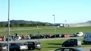 Short runway for a C-5 Galaxy