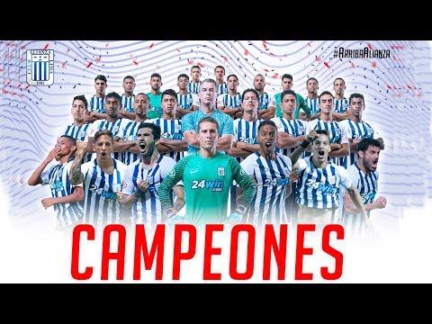 Alianza Lima Campeón 2017 - Goles Apertura Y Clausura