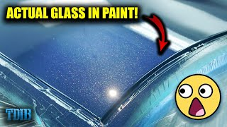 homepage tile video photo for Painting With CRUSHED GLASS! The ULTIMATE Flake (Smurrf Mustang GT)