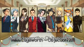 Repeat youtube video (Old) Ace Attorney: All Objection! Themes 2015