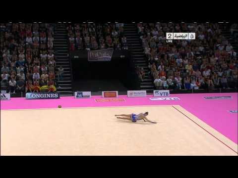 Gymnastique feminine sol - Montpellier France sept 2011* Anna ALYABYEVA (Kazakhastan)