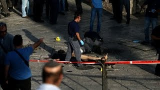 Attempted Jerusalem knife attack, assailant shot dead