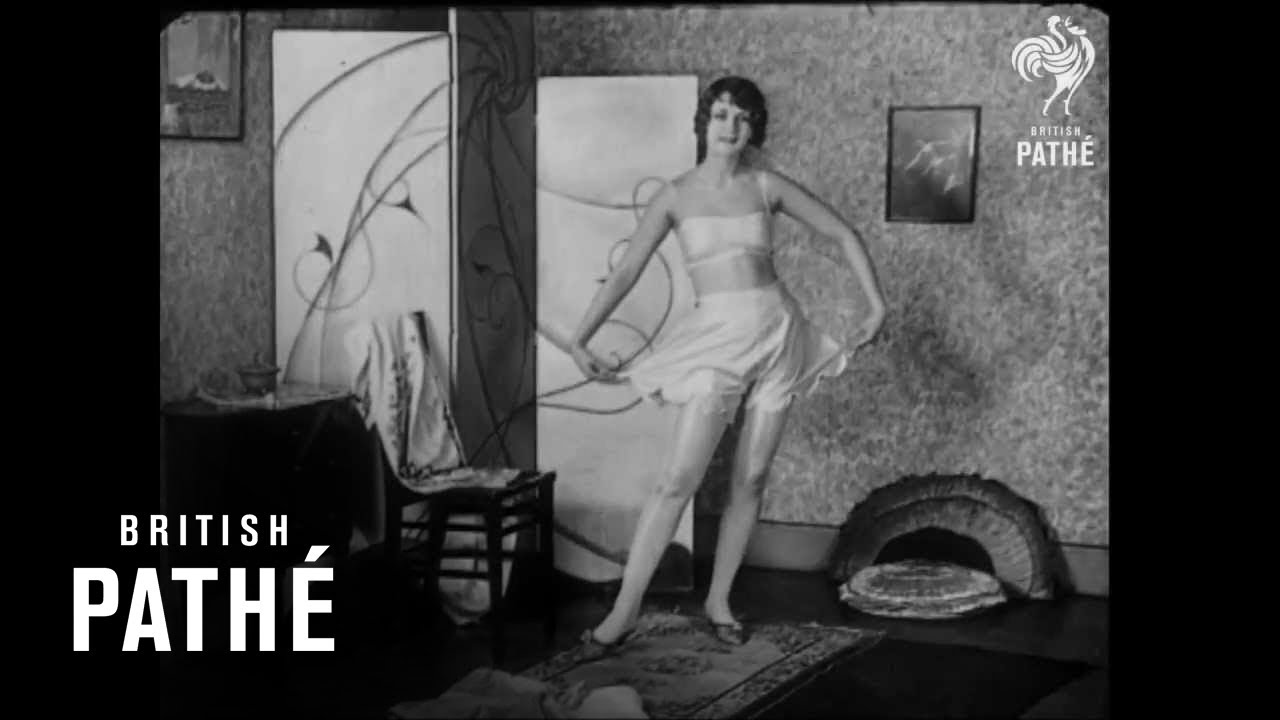 c80c9c475 Ladies Underwear Show in 1929 - YouTube
