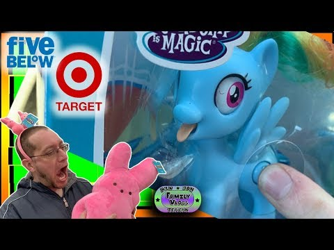 TOY HUNT! Five Below & Target - Which One Has Better Toys?