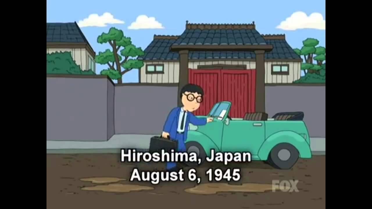 Family guy Hiroshima joke explained. - YouTube