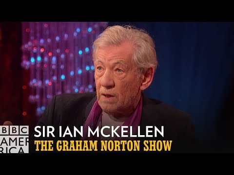 Sir Ian McKellen Flubbed His Lord Of The Rings Lines | The Graham Norton Show | BBC America