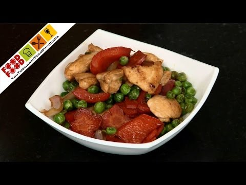 Chicken Vegetable Stir Fry | Food Food India - Fat To Fit | Healthy Recipes