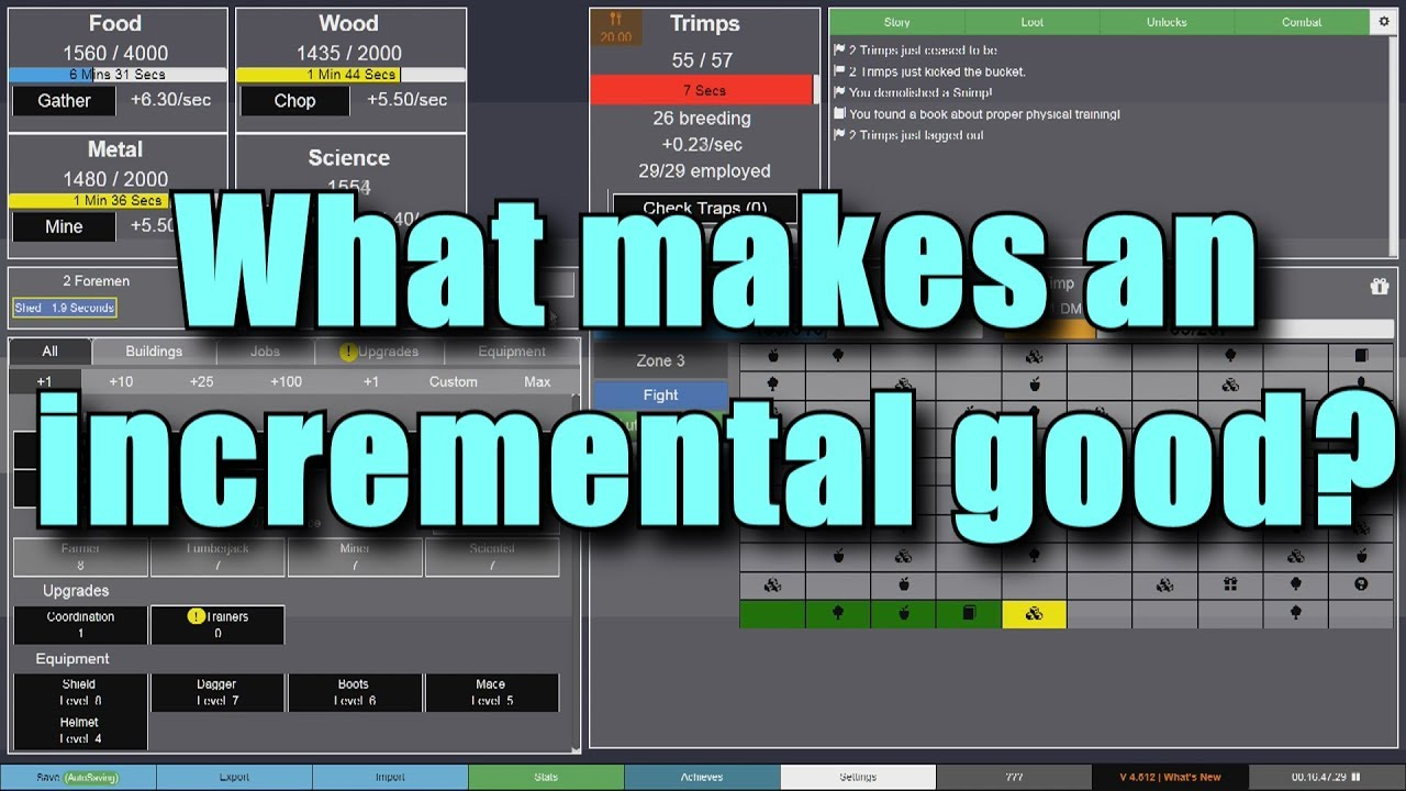 what makes an incremental