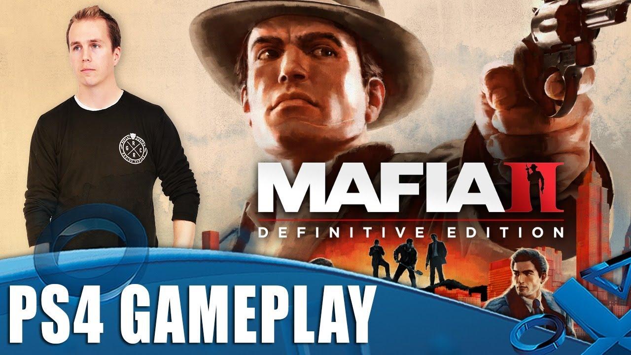Mafia II Definitive Edition PS4 Gameplay: los primeros 60 minutos + vídeo