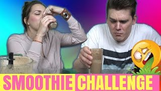 SMOOTHIE CHALLENGE | Mashin'theBeauty vs Dennis Domian