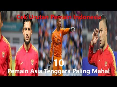 10 Pemain Asia Tenggara Paling Mahal 2020. Pemain-Pemain Indonesia Urutan Berapa?