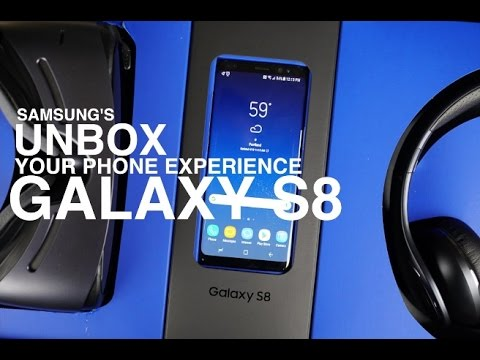 "Samsung Galaxy S8 ""Unbox your phone"" Experience"
