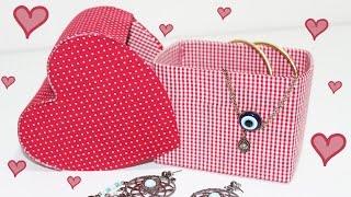 Caixa Coração feita com Caixa de Leite – Segredos de Aline