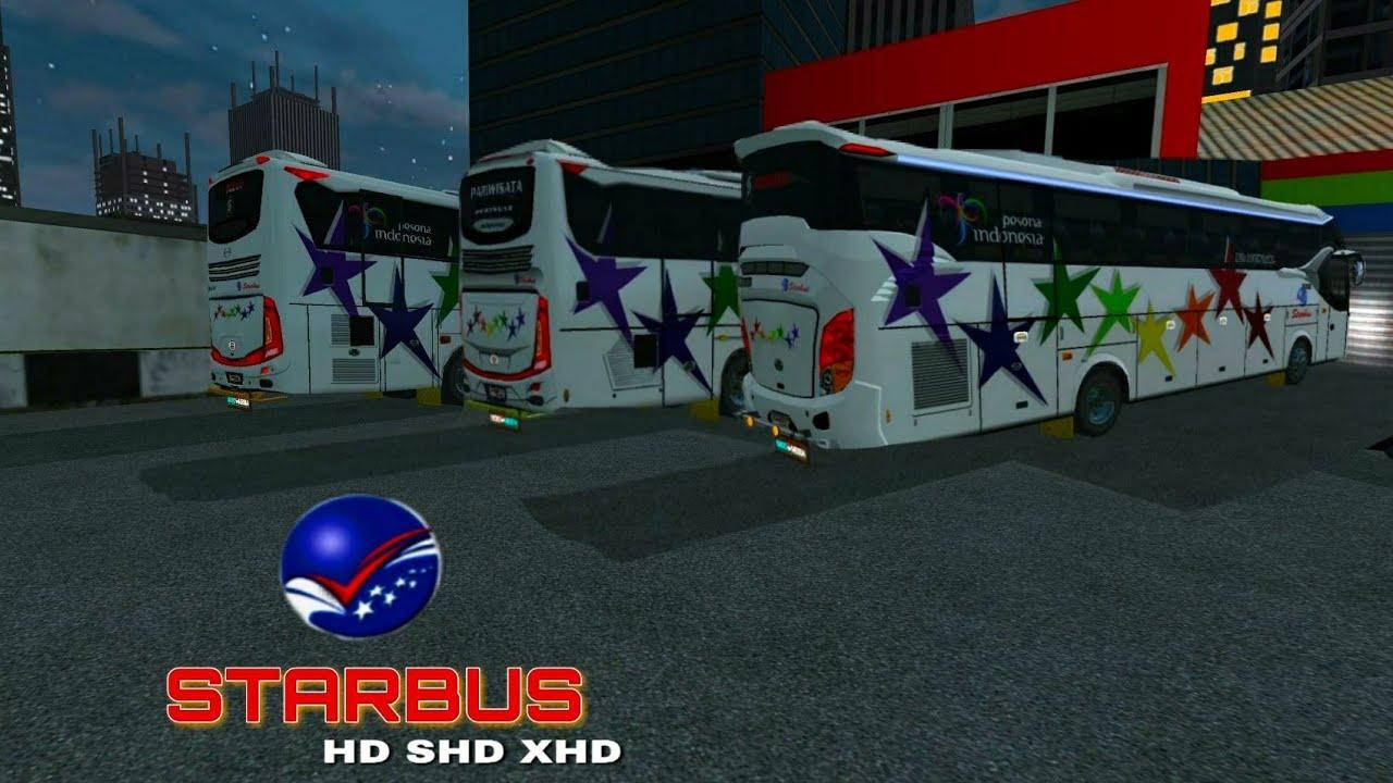 Livery BUSSID•|°StarBus°|•HD JB3+MD ,SHD JB2++ ,XHD #1
