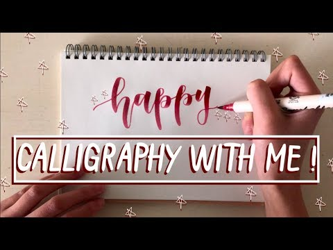 Calligraphy With Me: Birthday Designs