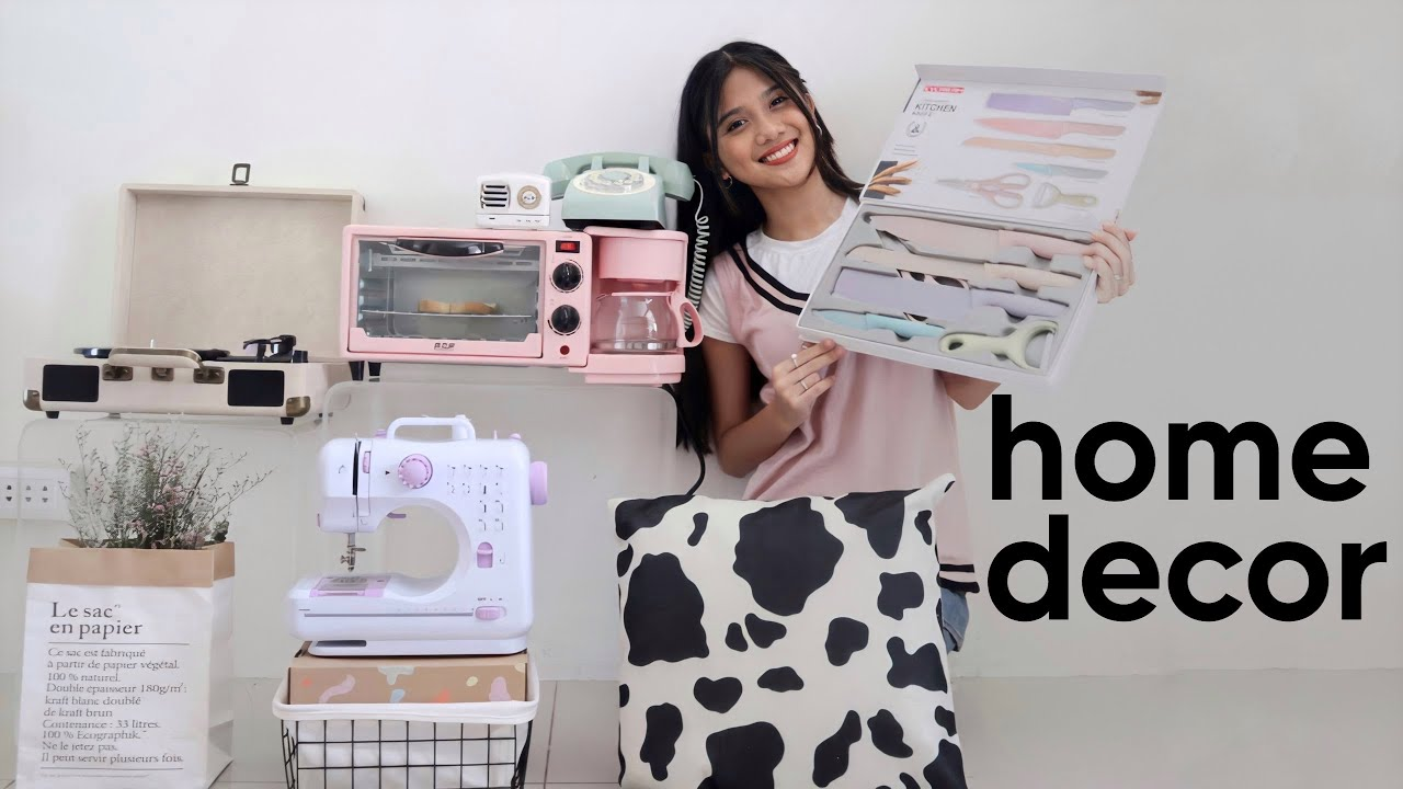 SHOPEE & LAZADA ROOM DECOR/HOME HAUL