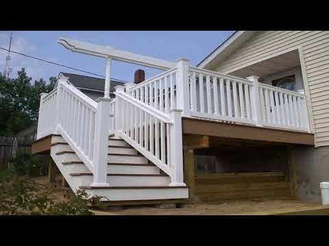 Diy Deck Stair Railing Ideas