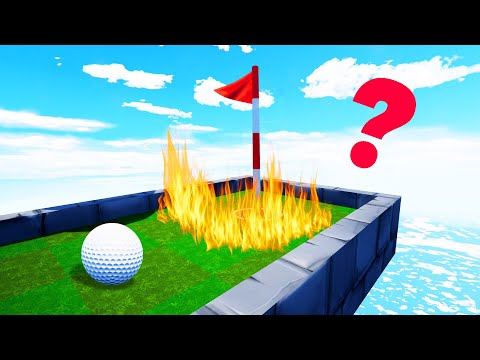 This Hole Is IMPOSSIBLE To Make! (Golf It)