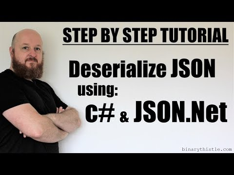Step by Step Tutorial: Deserializing JSON using c# and json.net