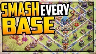 SMASHING Every Base is Easy! Clash of Clans Attacks w/Tribe Gaming