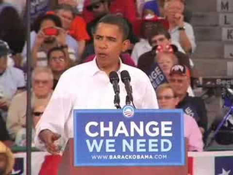 Barack Obama in Las Vegas, NV