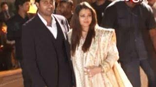 Aishwarya Rai & Abhishek Bachchan at Dheeraj Deshmukh
