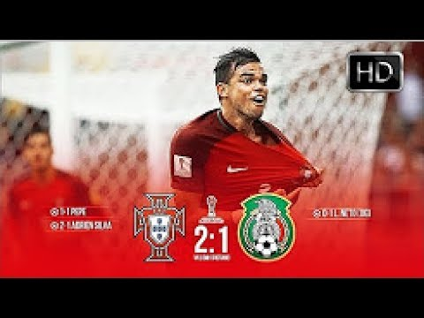Portugal vs Mexico 2-1 Confederation Cup 2017 - All Goals & Extended Highlights HD