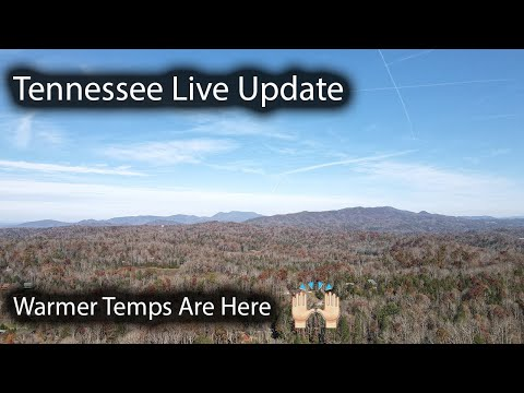 Tennessee Live Update Checking In - Warmer Temps Are Here