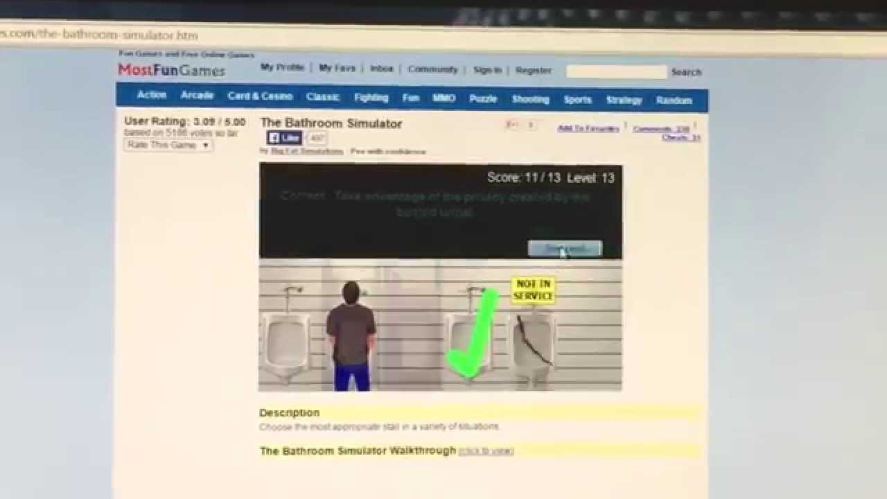 Bathroom Simulator Youtube