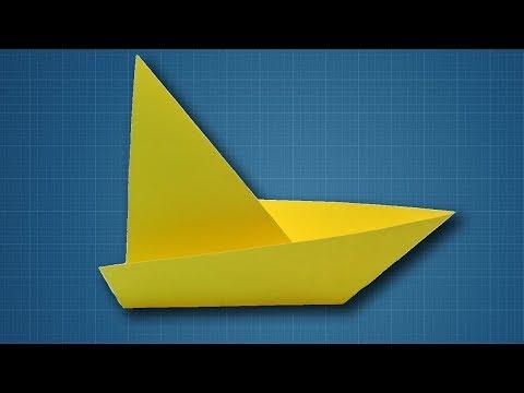 How to Make a Paper Sailboat | Origami Sailing Boat Making Tutorial
