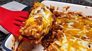 How To Make Enchiladas | Tex Mex Enchiladas Recipe | Enchilada Sauce Recipe