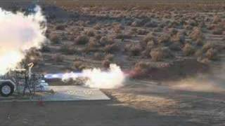 NASA - Methane engine test fire