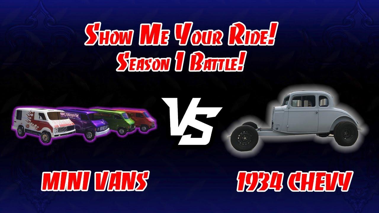 Show Me Your Ride! Battle! 70's Mini Vans (Ep. 8) VS. 1934 Chevy (Ep. 20)