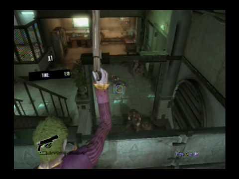 batman arkham asylum play as joker story mode