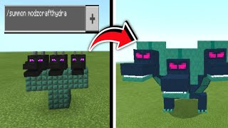 How to summon hydra in minecraft