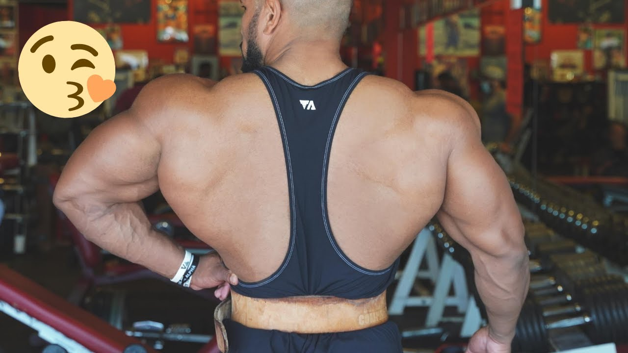 CRAZY HIGH VOLUME BACK WORKOUT -CHASING THE PUMP