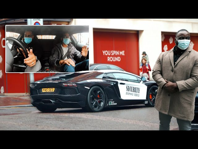 'Celebrity for the Day' Lamborghini Experience with Olu as Bodyguard