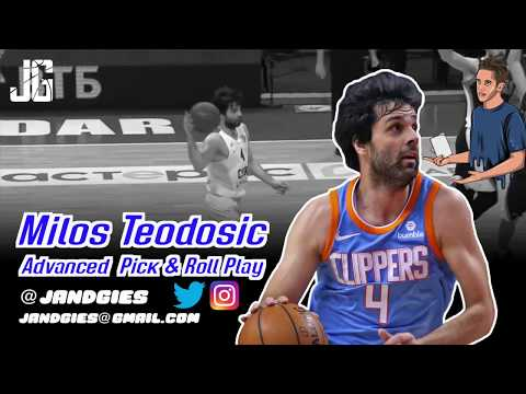 MILOS Teodosic ADVANCED Pick and Roll Play
