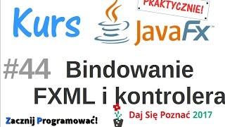 JavaFx kurs od podstaw - praktyczny projekt - przygotowanie formatki FXML do zapisu książek - #44