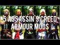 Skyrim Special Edition: ◼️ 5 Assassin's Creed Armour Mods ◼️   Killerkev