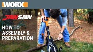 WORX JawSaw - How To: Assembly & Prep.