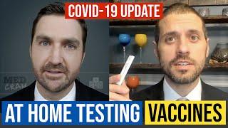 At Home Coronavirus Testing and COVID 19 Vaccine Update with Harvard Professor Dr. Michael Mina