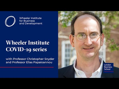 Funding a COVID-19 vaccine, basic economy for extraordinary times | COVID-19 Series | LBS