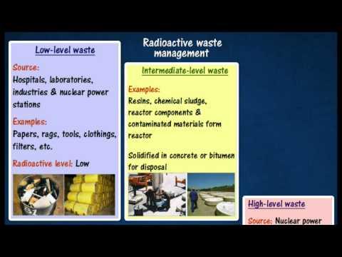 [5.5] Radioactive waste management