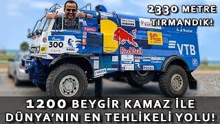 1200 BEYGİR KAMAZ ile Dünya'nın En Tehlikeli Yolu D915