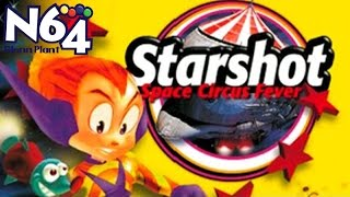 Starshot : Space Circus Fever - Nintendo 64 Review - HD