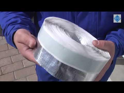 Как правильно клеить пароизоляцию на окно