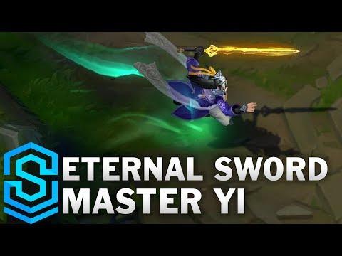 Eternal Sword Master Yi Skin Spotlight - League of Legends