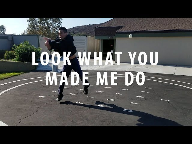 TAYLOR SWIFT - LOOK WHAT YOU MADE ME DO | Edward Chang Choreography