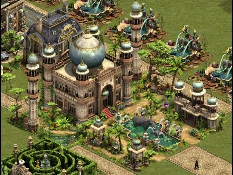 Forge of Empires - Sommer-Event 2017 [alle Eventgebäude/all event ...